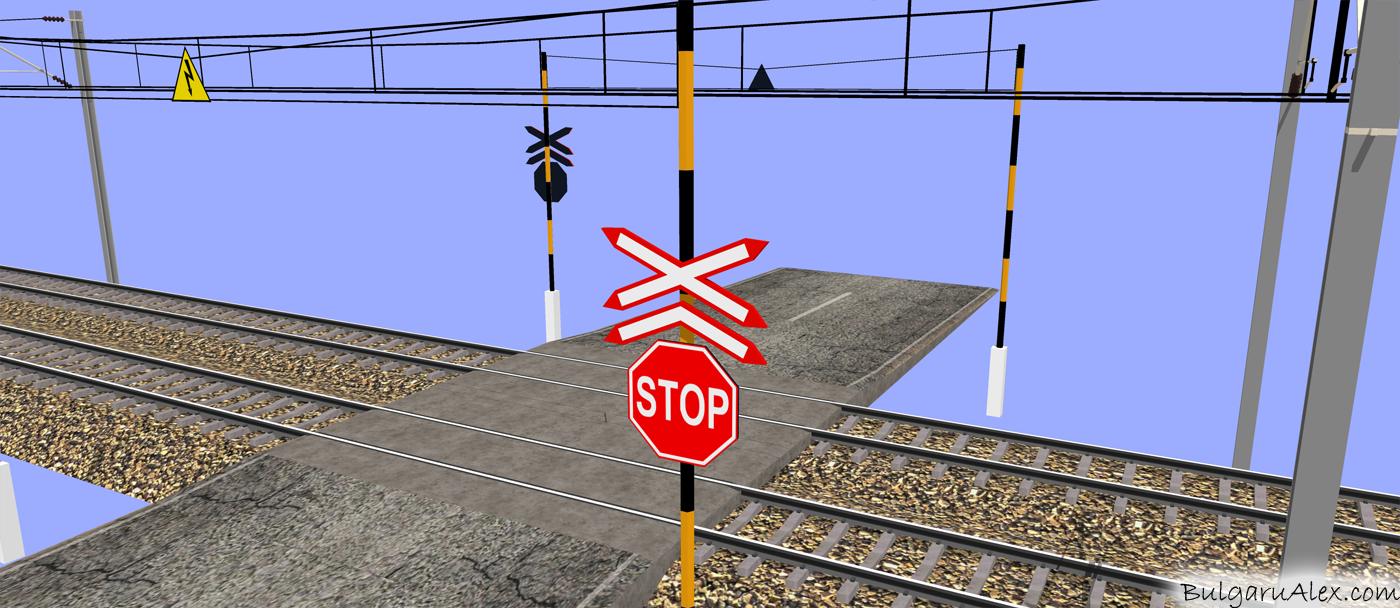 3d electrified railway 2